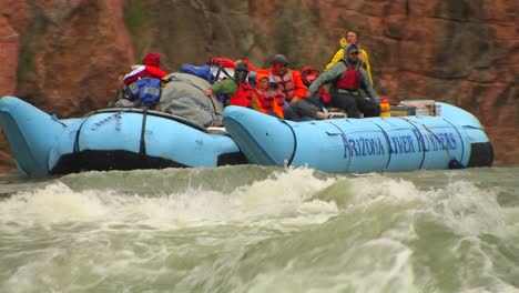 A-rafting-expedition-heads-down-the-Colorado-River-in-the-Grand-Canyon