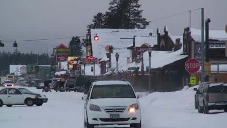 The-small-town-of-West-Yellowstone-in-winter