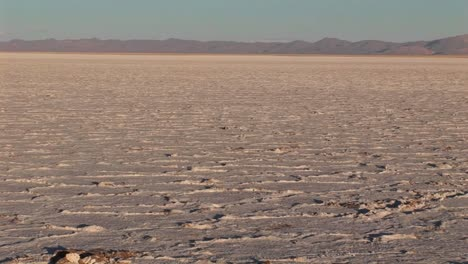 Salt-Flat-in-Alto-Plano-Argentina-with-distant-mountains