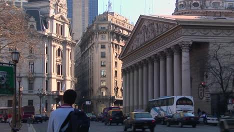 Luz-De-La-Tarde-Del-Capitolio-De-Buenos-Aires-Argentina