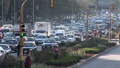 City-street-during-rush-hour