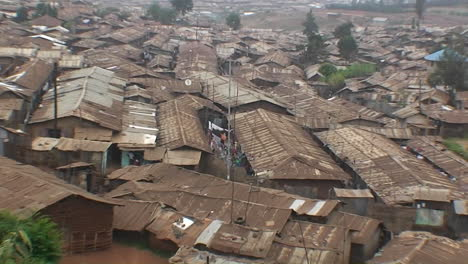 Houses-densely-crowded-in-a-slum
