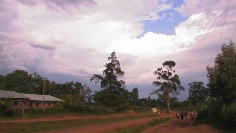 African-rural-village