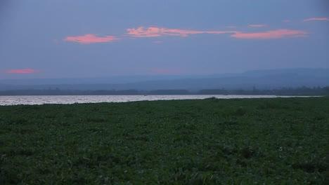 The-sun-has-just-set-below-the-horizon