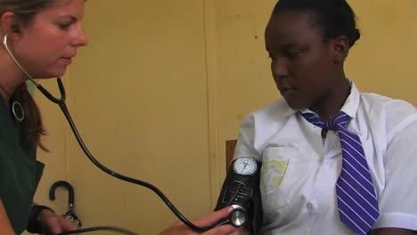 A-doctor-checking-patient-s-blood-pressure