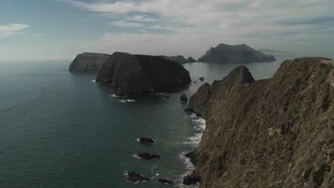 Una-Toma-De-Establecimiento-Del-Parque-Nacional-De-Las-Islas-Del-Canal-California