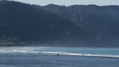 Ocean-waves-roll-into-a-beach-in-Oregon-or-Northern-California-1
