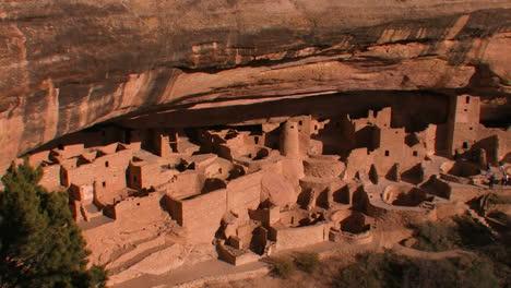Viviendas-De-Indios-Americanos-En-El-Parque-Nacional-Mesa-Verde-En-Colorado-1