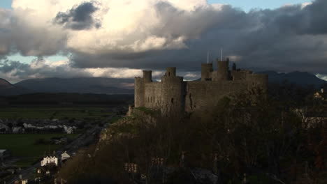A-fort-in-ireland-towers-above-the-countryside