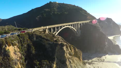 A-nice-aerial-of-the-Bixy-Bridge-along-coastal-California-s-Highway-One