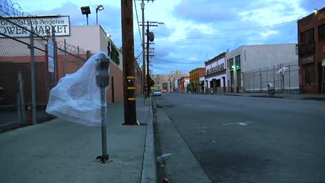An-empty-street-in-Los-Angeles-