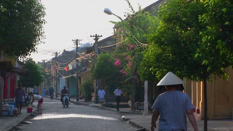 A-small-street-in-a-rural-village-in-Vietnam