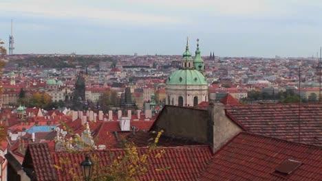 Una-Vista-De-Praga-En-La-República-Checa