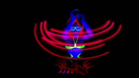 Glowing-UV-Lady-Dancing-13