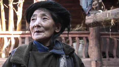 An-elderly-woman-in-China