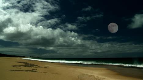 The-full-moon-over-a-beautiful-sandy-beach