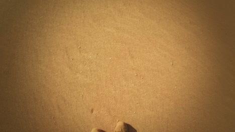 Footsteps-along-a-beach