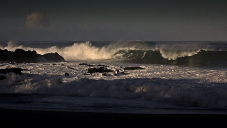 Waves-roll-into-a-beach-following-a-big-storm-1