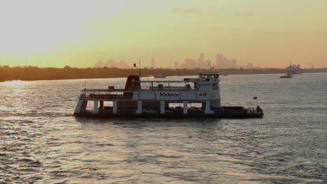 A-large-barge-or-ferry-boat-near-Miami-Florida