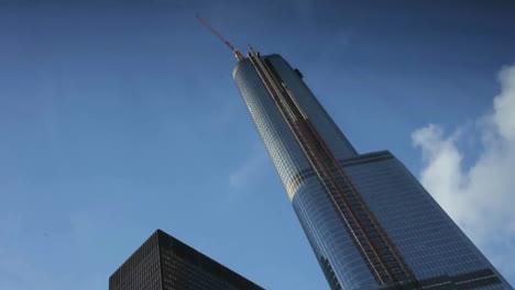 A-skyscraper-in-Detroit-Michigan