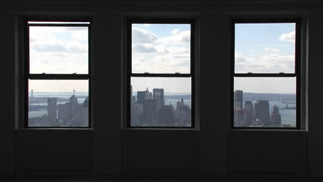 A-view-outside-of-windows-of-the-Empire-State-Building-in-New-York-City-New-York-