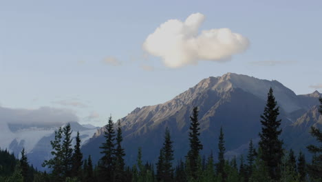 Time-lapse-of-sunset-and-clouds-on-the-Wrangell-Mountains-from-McCarthy-in-Wrangell-Saint-Elias-National-Park-Alaska