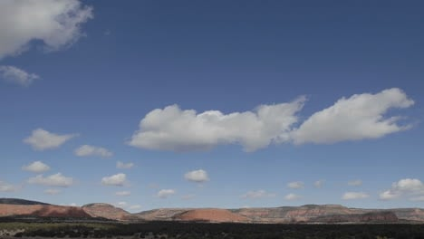 Panning-time-lapse-of-winter-clouds-in-a-blue-sky-over-the-Continental-Divide-in-New-Mexico