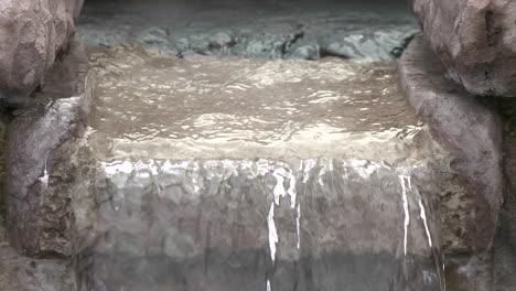 Close-up-of-water-in-a-fountain-in-Oak-View-California