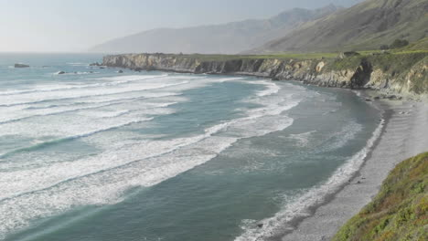 Panning-time-lapse-of-waves-breaking-on-Sand-Dollar-Beach-in-Big-Sur-California