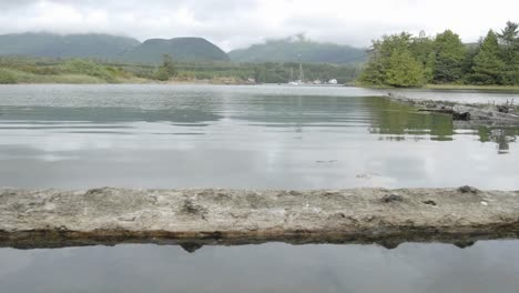 Time-lapse-of-incoming-tide-at-Ucluelet-Harbor-on-Vancouver-Island-in-British-Columbia-Canada
