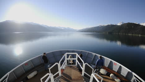 Point-of-view-time-lapse-of-a-ship-cruising-up-Endicott-Arm-in-Tracy-Arm-Wilderness-in-Southeast-Alaska