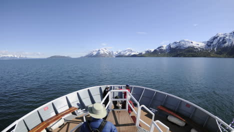 Point-of-view-time-lapse-of-a-ship-cruising-through-Glacier-Bay-National-Park-in-Southeast-Alaska
