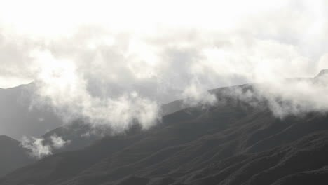 Time-lapse-of-storm-clouds-clearing-over-the-Santa-Ynez-Mountains-above-Ojai-California