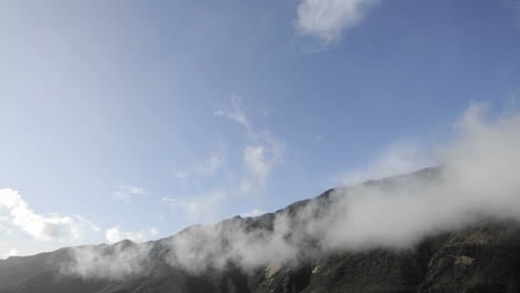 Time-lapse-of-clouds-swirling-over-the-Santa-Ynez-Mountains-above-Ojai-California