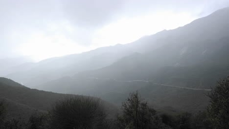 Time-lapse-of-fast-rainstorm-clearing-over-the-Santa-Ynez-Mountains-above-Ojai-California