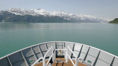 Point-of-view-Time-lapse-on-a-bow-of-a-ship-approaching-Margerie-Glacier-in-Glacier-Bay-National-Park-Alaska