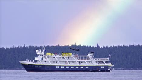 Rainbow-over-the-National-Geographic-Sea-Lion-anchored-in-Pavlof-Harbor-on-Chichagof-Island-Southeast-Alaska