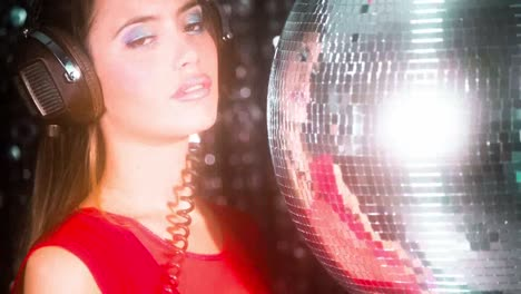Woman-Discoball-44