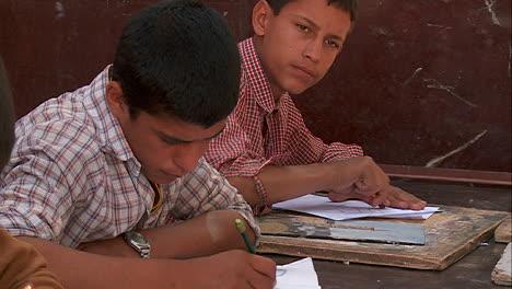 Boys-study-in-a-school-in-Kabul-Afghanistan