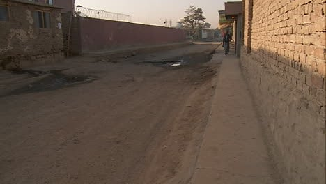 An-empty-alley-in-Kabul-Afghanistan