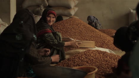 Women-work-in-a-factory-in-Afghanistan-producing-and-packaging-dried-almonds-1