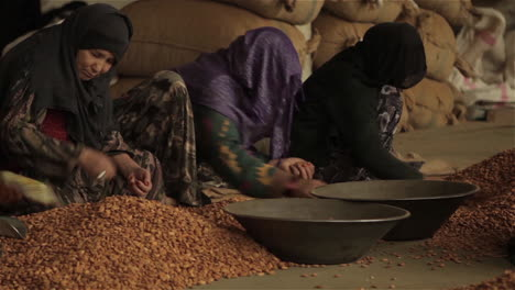 Women-work-in-a-factory-in-Afghanistan-producing-and-packaging-dried-almonds-2