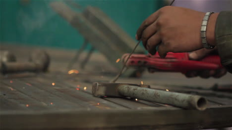 A-worked-does-spot-welding-in-a-metal-shop-in-Afghanistan