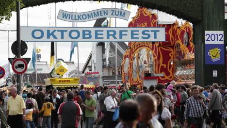 Establishing-shot-of-Oktoberfest-in-Germany