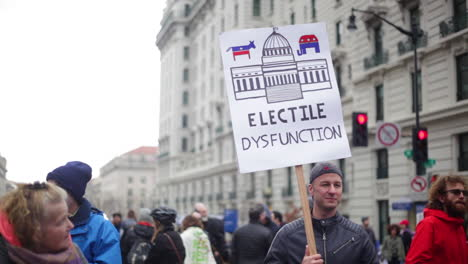 Protestors-carry-a-sign-saying-electile-dysfunction-in-an-antiTrump-rally-in-Washington-DC