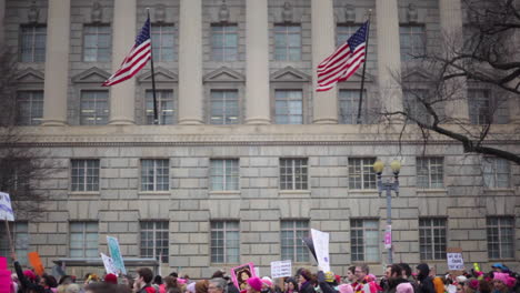 Protestors-march-and-hold-signs-in-an-antiTrump-rally-in-Washington-DC-2