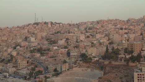 Establishing-shot-of-Amman-Jordan