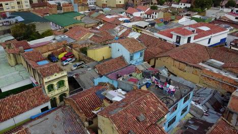 Beautiful-aerial-establishing-shot-of-old-buildings-modern-skyscrapers-and-neighborhoods-in-downtown-Bogota-Colombia-1