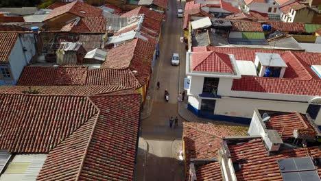 Lowering-aerial-establishing-shot-of-old-buildings-modern-skyscrapers-and-neighborhoods-in-downtown-Bogota-Colombia-1