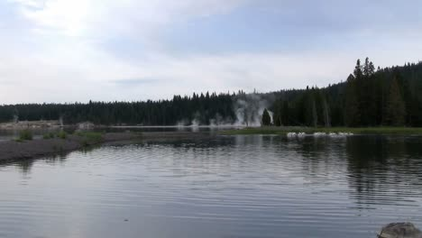 A-lake-in-Yellowstone-National-park